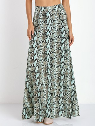 Complete the look: Show Me Your Mumu Princess Di Ballgown Aqua Python