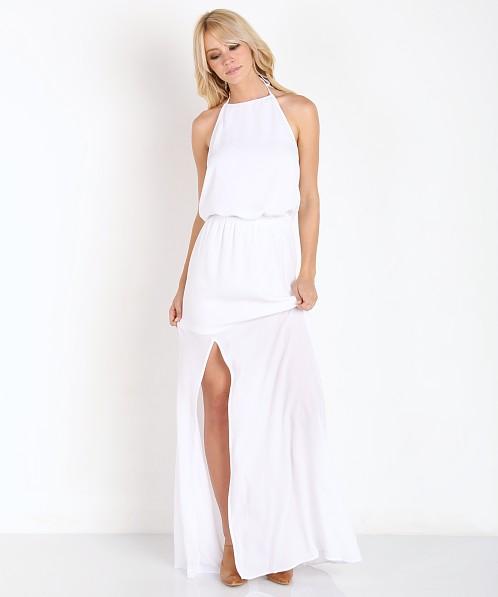 abf38b32051 Show Me Your Mumu Heather Halter Dress White Crisp MM5-17 - Free Shipping  at Largo Drive