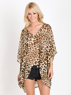 Show Me Your Mumu Peta Tunic Miss Cheetah