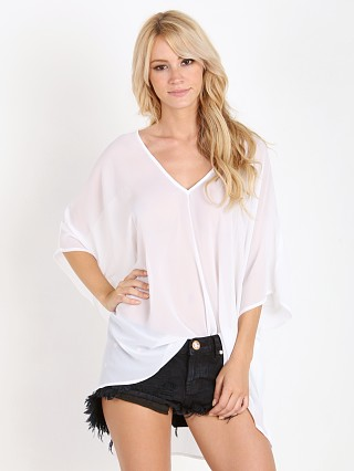 Show Me Your Mumu Peta Tunic White