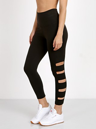 Beyond Yoga Wide Band Stacked Capri Legging Jet Black