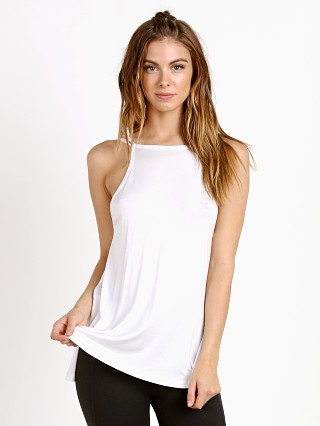 Beyond Yoga Slink or Swim Dropped X Tank White