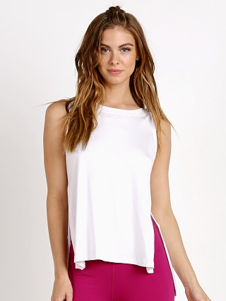 Beyond Yoga High Low Tank White