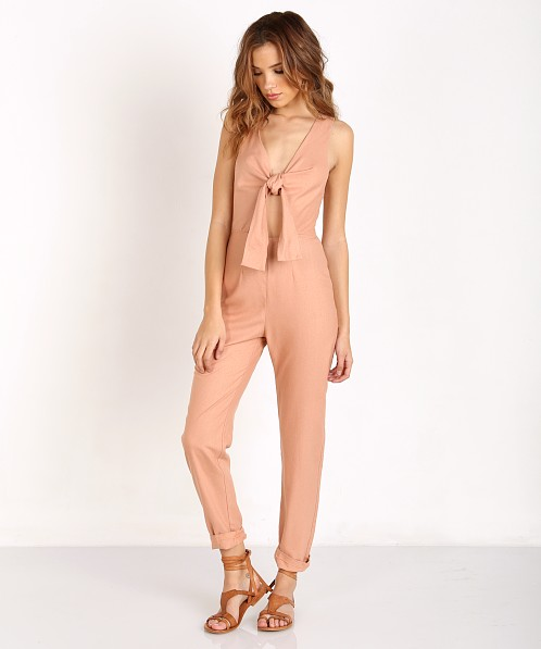 53486e38539 Solid   Striped The Jumpsuit Pink R16WR11 - Free Shipping at Largo Drive