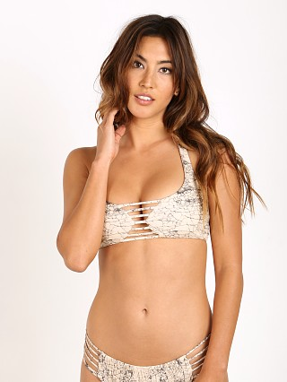 Boys + Arrows Margot The Mess Bikini Top Baja