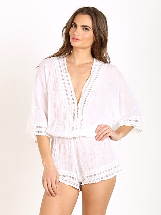 Eberjey Love Shack Evan Cover Up White
