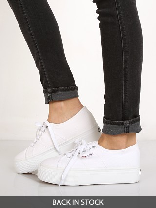 Superga 2790 Platform White