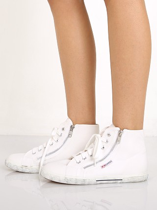 Superga Cotdu High Top White