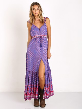Spell Sunset Road Frill Dress Royal