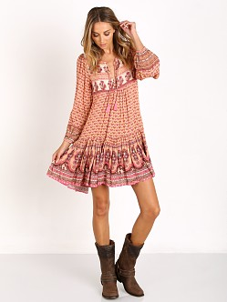 Spell Sunset Road Boho Dress Peach