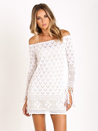 Spell Leila of the Shoulder Dress White