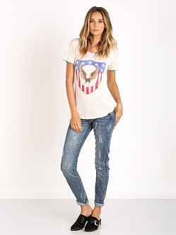 Spell Captain Amerique Tee White