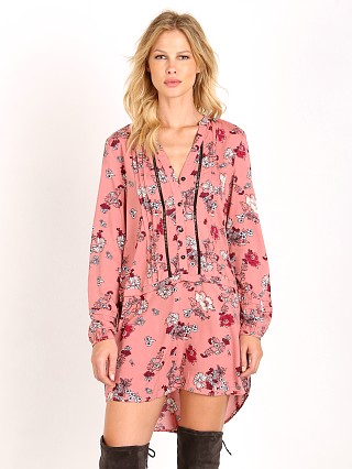 MinkPink Field Of Dreams Shirt Dress Floral Multi