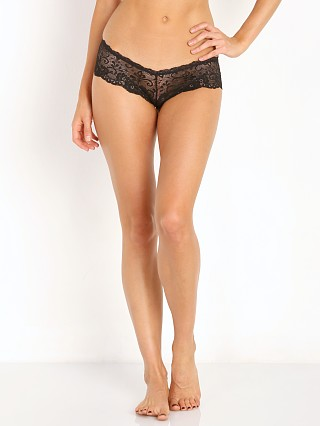 Les Coquines Evi Lace Cheeky Panty Black
