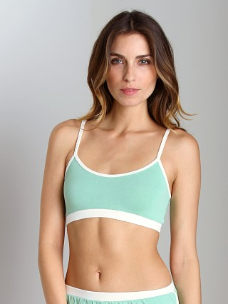 Only Hearts So Fine Scoop Neck Bralette Menthol