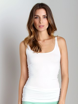 Only Hearts So Fine Skinny Tank White