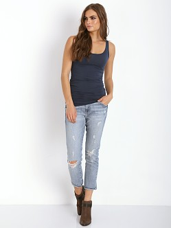 Splendid Layers Long Tank Navy