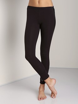 Splendid Novelty Tuxedo Leggings Black