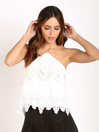 The Jetset Diaries Paradise Top Ivory