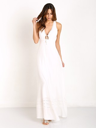The Jetset Diaries Morning Swim Maxi Dress Ivory
