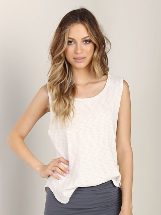 LNA Clothing Anja Tank White