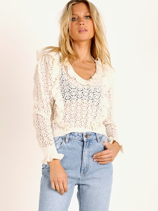 Complete the look: For Love & Lemons Pearl V Neck Cropped Sweater Ivory