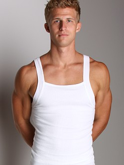 2xist Form Square Cut Tank Top White