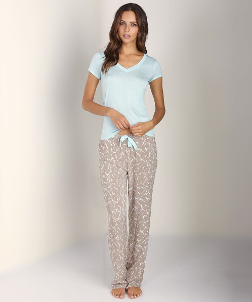 Calvin Klein PJ Pant Abstract Leaves Print