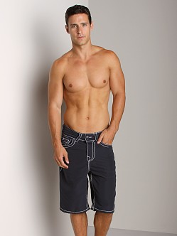 True Religion PCH Board Shorts Navy