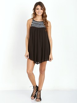 Amuse Society Marlowe Dress Black Sands