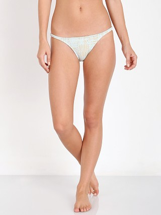 Made by Dawn Petal Bikini Bottom Agave Gold