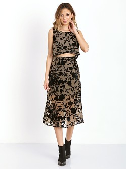 Flynn Skye Alyse Dress Morning Latte