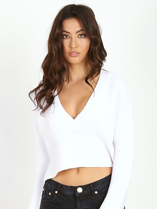 One Teaspoon Parisienne Night Knit White