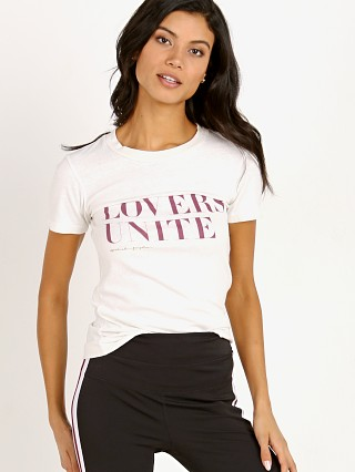 Model in stone Spiritual Gangster Lovers Unite Tee