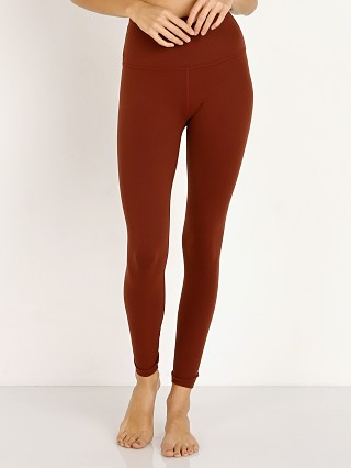 Beyond Yoga High Waisted Midi Legging Red Rock