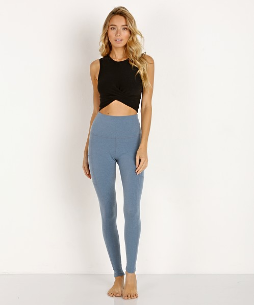 Beyond Yoga Plush Side Pocket High Waisted Midi Legging Light Bl