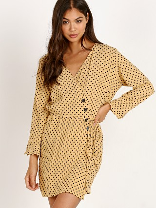 Model in lula dot Faithfull the Brand Greta Dress