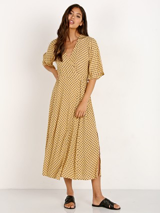 Faithfull the Brand Rivera Midi Dress Lula Dot