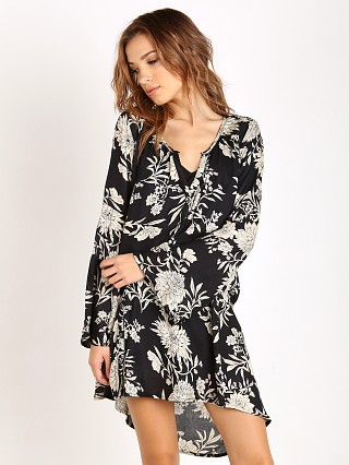 Amuse Society Mae Dress Black Sands Floral