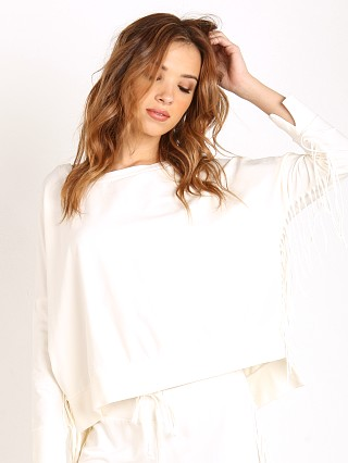Amuse Society Emma Fleece Sweater Casa Blanca