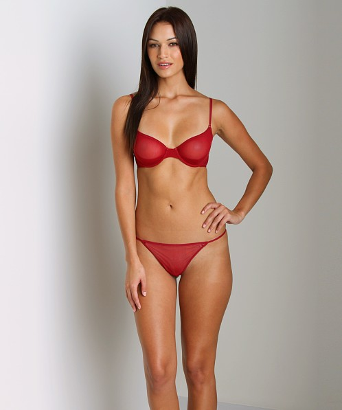 Cosabella New Soire Italian Thong Wineberry