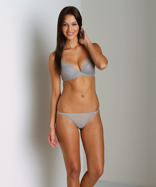 Cosabella New Soire Italian Thong Dove Grey