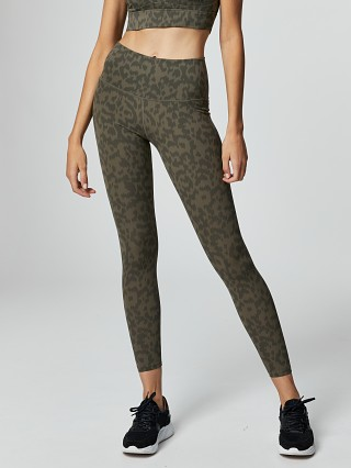 Varley Luna Legging Evergreen Spots
