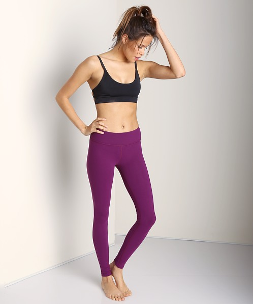 Beyond Yoga Essential Long Legging Plum Wine