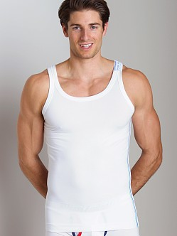 Diesel Industries Bale Tank Top White