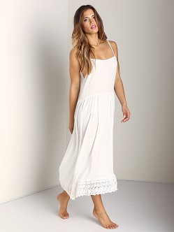 Free People Easy Breezy Slip Ivory