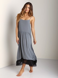 Free People Easy Breezy Slip Olive