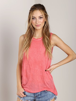 Complete the look: 291 Venice Asymetrical Muscle Tee Grapefruit