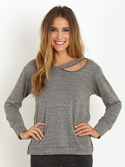 LNA Clothing Cueva Sweatshirt Heather Grey