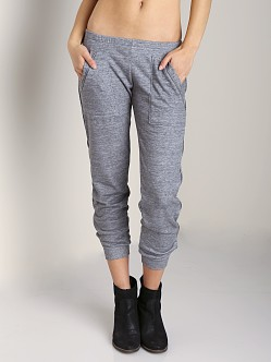 LNA Clothing Isaac Zip Pant Heather Grey
